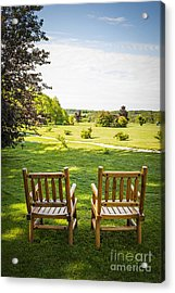 Summer Relaxing Acrylic Print by Elena Elisseeva