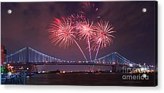 Acrylic Print featuring the photograph 4 Th Of July Firework by Rima Biswas