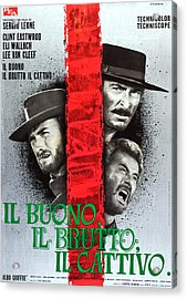 The Good, The Bad And The Ugly, Aka Il Acrylic Print by Everett
