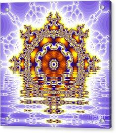 The Kaleidoscope Reflections Acrylic Print by Odon Czintos