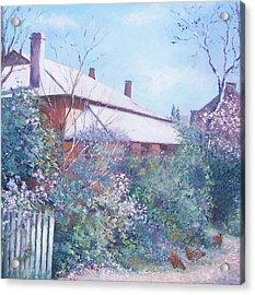 The Old Farm House Acrylic Print by Jan Matson