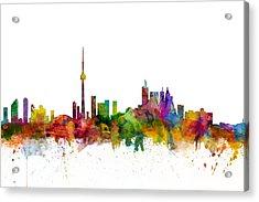 Toronto Canada Skyline Acrylic Print