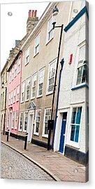 Town Houses Acrylic Print by Tom Gowanlock