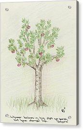 4 Trees-4th Tree Summer Acrylic Print