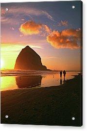 Usa, Oregon, Cannon Beach Acrylic Print by Jaynes Gallery