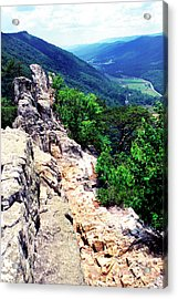 View From Atop Seneca Rocks Acrylic Print by Thomas R Fletcher