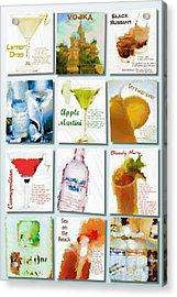 Vodka Acrylic Print