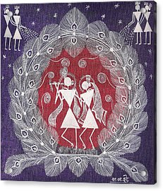 Radha Krishna Acrylic Print