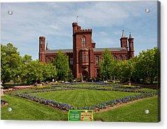 Washington Dc, Smithsonian Headquarters Acrylic Print by Lee Foster