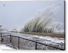 Winter Storm Nemo, February 2013, Usa Acrylic Print