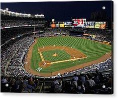 Yankee Stadium 3 Acrylic Print by Allen Beatty