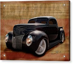 40 Ford Pickup Warriors Acrylic Print