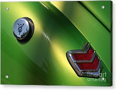 40 Ford - Tank N Tail Light-8527 Acrylic Print by Gary Gingrich Galleries