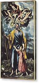 Greco, Dom�nikos Theotok�poulos, Called Acrylic Print by Everett