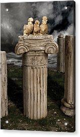 42. Akropolis Burmahs Acrylic Print by Sigrid Van Dort