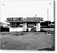 41 Drive In-manchester Tennessee Acrylic Print by   Joe Beasley