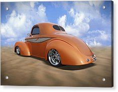 41 Willys Acrylic Print by Mike McGlothlen