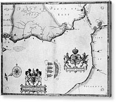 Spanish Armada, 1588 Acrylic Print by Granger