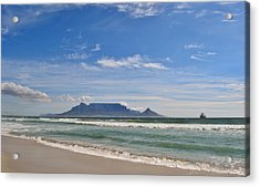 Table Mountain Acrylic Print by Werner Lehmann