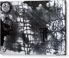 Two Circle Acrylic Print