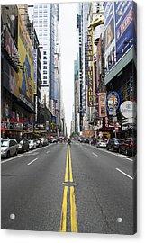 42nd Street - New York Acrylic Print