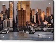 42nd Street Times Square Acrylic Print