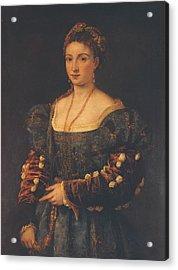 Italy, Tuscany, Florence, Palazzo Acrylic Print by Everett