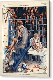 1920s France La Vie Parisienne Acrylic Print by The Advertising Archives