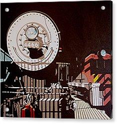 4466 Acrylic Print by Paul Guyer