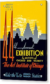 44th Annual Exhibition By Artists Of Chicago And Vicinity Acrylic Print