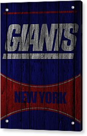 New York Giants Acrylic Print