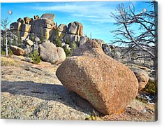 Vedauwoo Rocks Acrylic Print