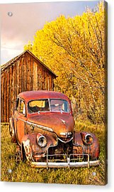 46 Chevy In The Weeds Acrylic Print