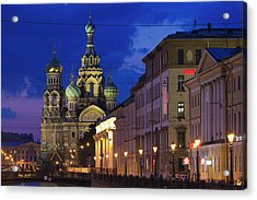 Russia, Saint Petersburg, Center Acrylic Print