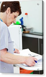 Shared Care Dialysis Unit Acrylic Print by Life In View
