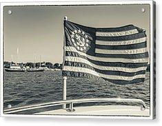 Usa, Massachusetts, Cape Ann Acrylic Print by Walter Bibikow