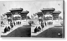 Acrylic Print featuring the painting China Boxer Rebellion by Granger