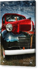 47 Dodge Pickup Acrylic Print by Trey Foerster