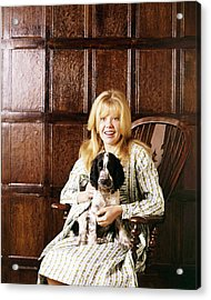 Hayley Mills Acrylic Print by Silver Screen