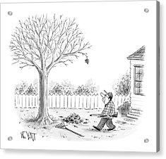 New Yorker November 27th, 2006 Acrylic Print