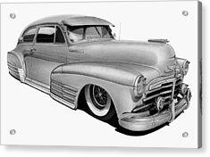 48 Chevy Fleetline Acrylic Print by Lyle Brown