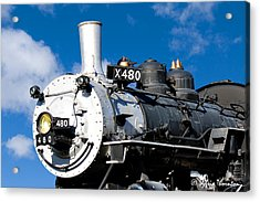 Acrylic Print featuring the photograph 480 Locomotive by Sylvia Thornton