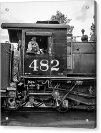 Acrylic Print featuring the photograph 482 by Ross Henton