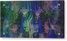 484 - Feline  People   Acrylic Print