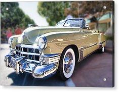 49 Cadillac Convertible Acrylic Print by Robert Rus