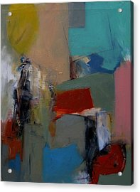Figure Acrylic Print by Fred Smilde