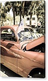 49 Plymouth Acrylic Print