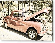 49 Plymouth Coupe Acrylic Print