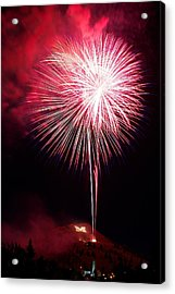 Acrylic Print featuring the photograph 4th July Butte Mt 2013 by Kevin Bone