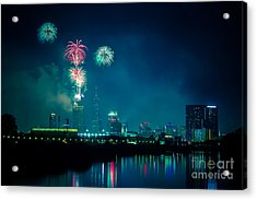 4th Of July At Indianapolis Acrylic Print by Jose Sanchez